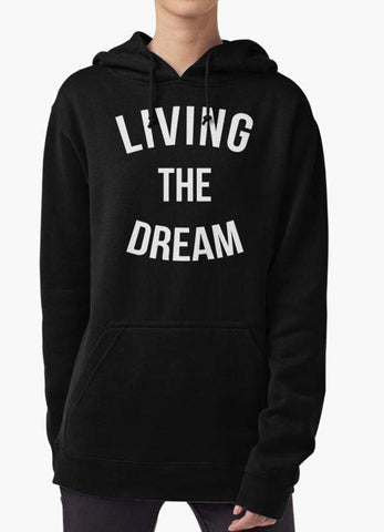Farhan Ahmed Sweat Shirt LIVING THE DREAM WOMEN HOODIE