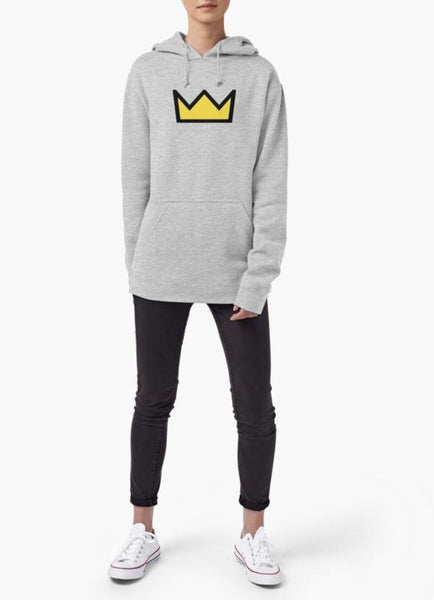 Farhan Ahmed Sweat Shirt Riverdale - Bughead, Betty Cooper Crown WOMEN HOODIE GRAY