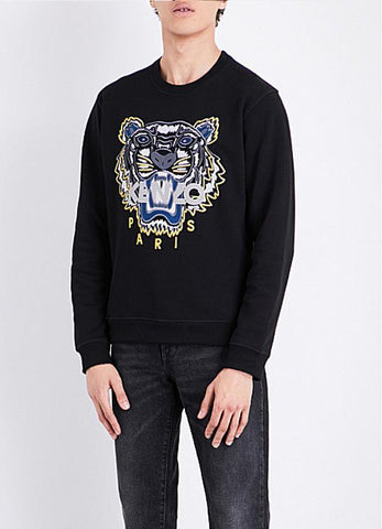 Farhan Ahmed Sweat Shirt TIGER SWEATSHIRT BLACK