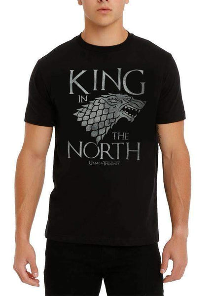 Game of Thrones T-SHIRT GAME OF THRONES KING IN THE NORTH T-SHIRT