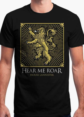 Game of Thrones T-SHIRT HOUSE LANNISTER SHIELD - GAME OF THRONES