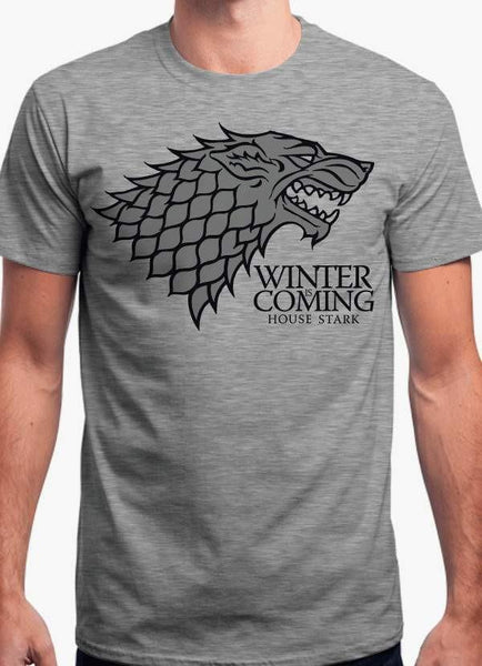 Game of Thrones T-SHIRT WINTER IS COMING - GAME OF THRONES Tshirt