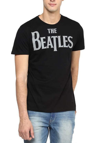 Green Chilli T-SHIRT The Beatles Lonely Hearts Black Half Sleeve Men T-Shirt