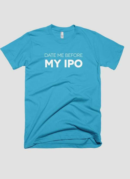 HAREF ART T-SHIRT DATE ME BEFORE IPO Printed T-shirt