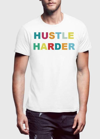 HAREF ART T-SHIRT HUSTLE HARDER T-shirt