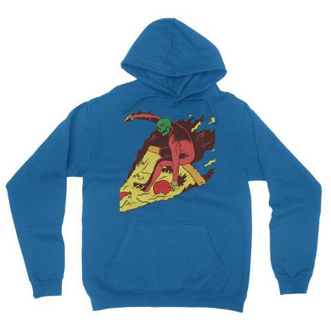 Hassan Shiekh Hoodie S / True Royal Pizza Surf  California Fleece Pullover Hoodie