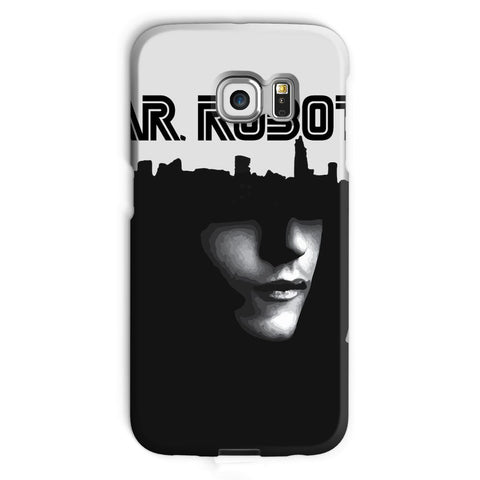 Hassan Shiekh Mobile Cover Galaxy S6 Edge / Snap / Gloss Mr Robot Phone Case
