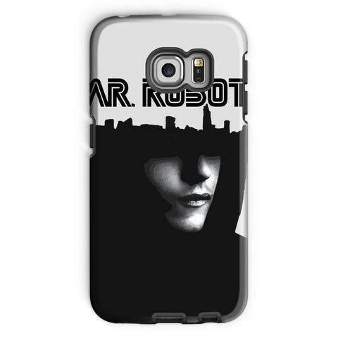 Hassan Shiekh Mobile Cover Galaxy S6 Edge / Tough / Gloss Mr Robot Phone Case