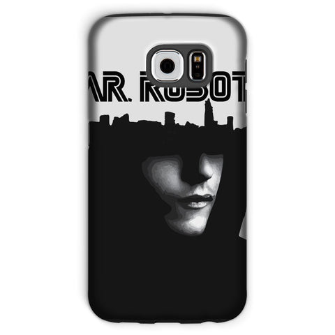 Hassan Shiekh Mobile Cover Galaxy S6 / Tough / Gloss Mr Robot Phone Case