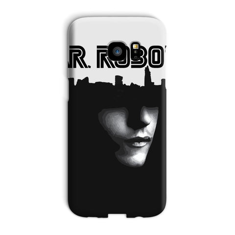 Hassan Shiekh Mobile Cover Galaxy S7 Edge / Snap / Gloss Mr Robot Phone Case