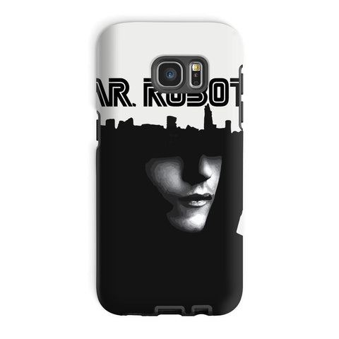 Hassan Shiekh Mobile Cover Galaxy S7 Edge / Tough / Gloss Mr Robot Phone Case