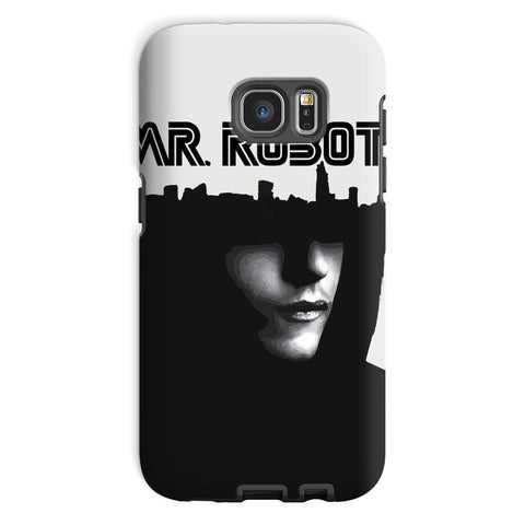 Hassan Shiekh Mobile Cover Galaxy S7 / Tough / Gloss Mr Robot Phone Case