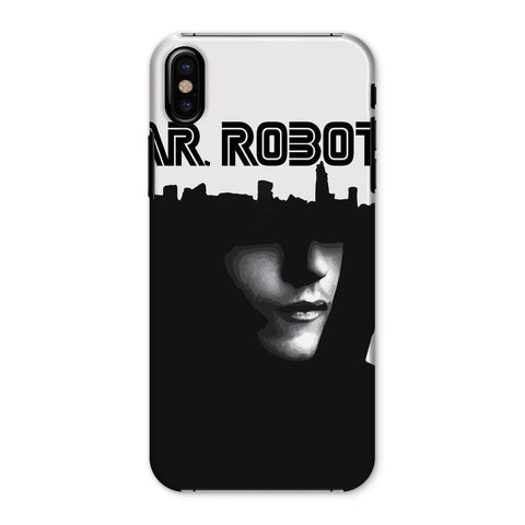 Hassan Shiekh Mobile Cover iPhone X / Snap / Gloss Mr Robot Phone Case