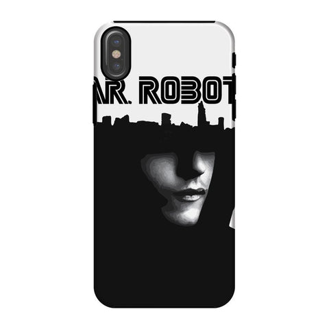 Hassan Shiekh Mobile Cover iPhone X / Tough / Gloss Mr Robot Phone Case