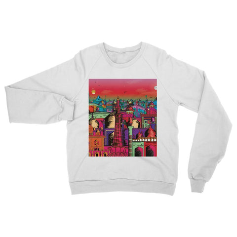 Hassan Shiekh Sweat Shirt XS / Arctic White Lahore on Drugs Sweatshirt