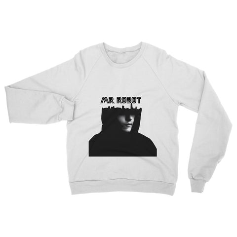 Hassan Shiekh Sweat Shirt XS / Arctic White Mr Robot Sweatshirt