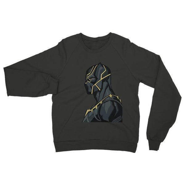 Hassan Shiekh Sweat Shirt XS / Black Black Panther By Hassan Sheikh Sweatshirt