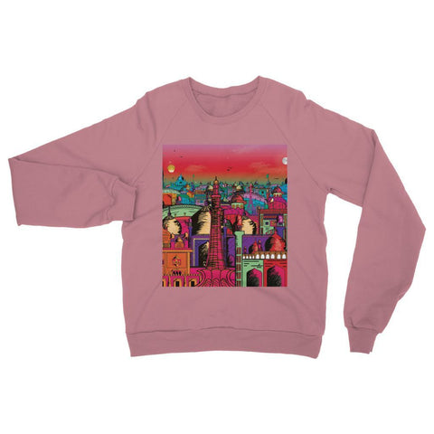 Hassan Shiekh Sweat Shirt XS / Dusty Pink Lahore on Drugs Sweatshirt