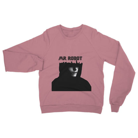 Hassan Shiekh Sweat Shirt XS / Dusty Pink Mr Robot Sweatshirt