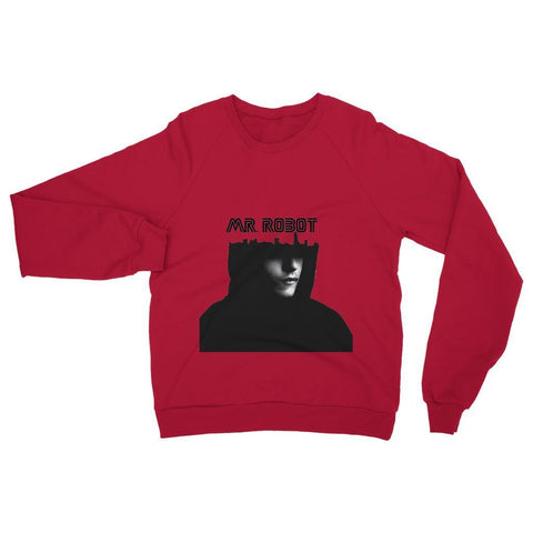 Hassan Shiekh Sweat Shirt XS / Fire Red Mr Robot Sweatshirt