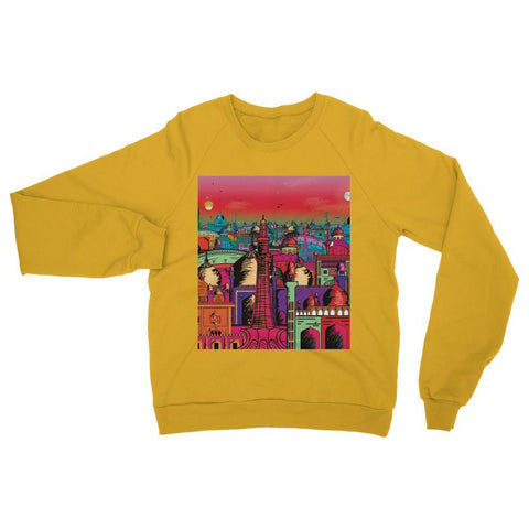 Hassan Shiekh Sweat Shirt XS / Gold Lahore on Drugs Sweatshirt