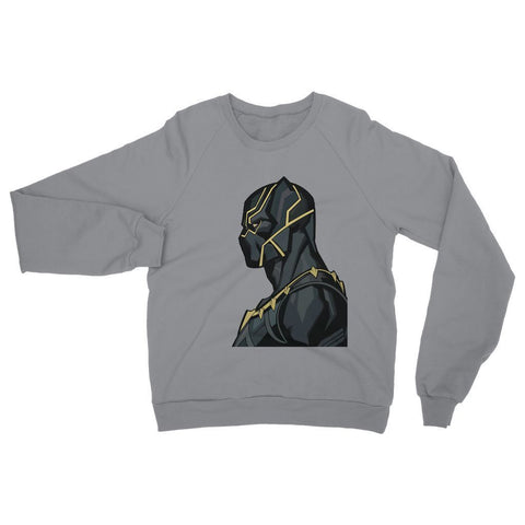 Hassan Shiekh Sweat Shirt XS / Grey Black Panther By Hassan Sheikh Sweatshirt