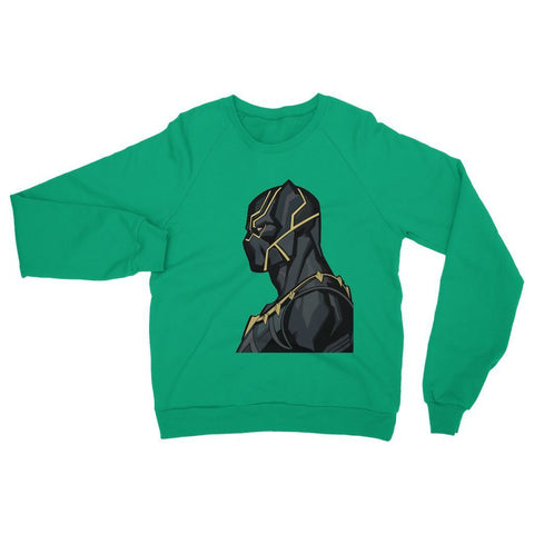 Hassan Shiekh Sweat Shirt XS / Irish Green Black Panther By Hassan Sheikh Sweatshirt