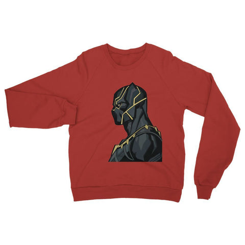 Hassan Shiekh Sweat Shirt XS / red Black Panther By Hassan Sheikh Sweatshirt