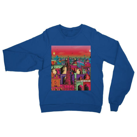 Hassan Shiekh Sweat Shirt XS / Royal Blue Lahore on Drugs Sweatshirt