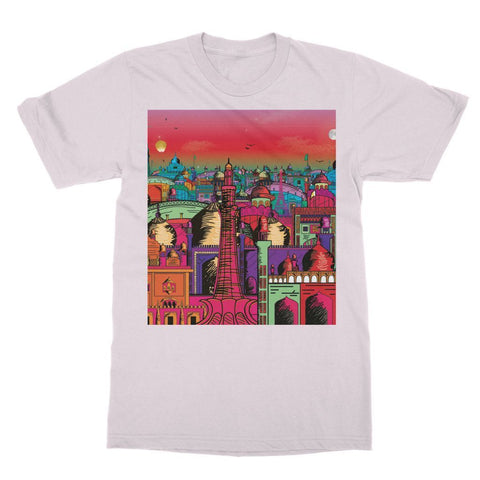 Hassan Shiekh T-SHIRT XS / Light Pink Lahore on Drugs T-Shirt