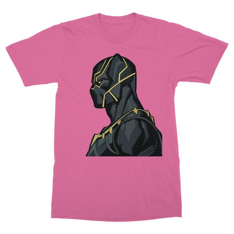 Hassan Shiekh T-shirt XS / Pink Black Panther By Hassan Sheikh T-Shirt