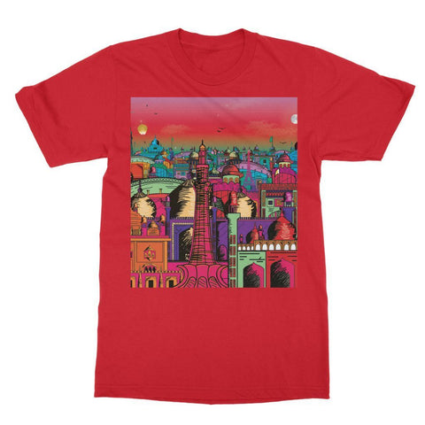 Hassan Shiekh T-SHIRT XS / Red Lahore on Drugs T-Shirt