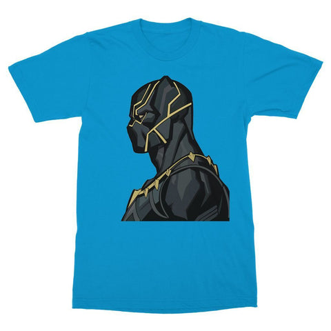 Hassan Shiekh T-shirt XS / Sapphire Black Panther By Hassan Sheikh T-Shirt