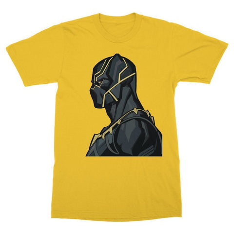 Hassan Shiekh T-shirt XS / Yellow Black Panther By Hassan Sheikh T-Shirt