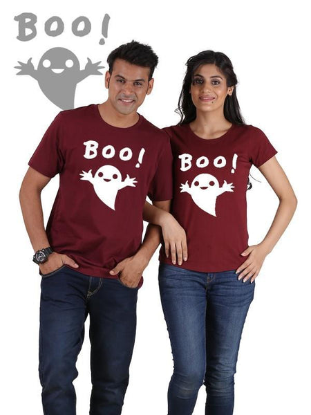 HUM TUM T-SHIRT Boo !!! Couple T-Shirts