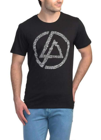 Huma Asghar T-SHIRT Linkin Park Minutes To Midnight Black Half Sleeve Men T-Shirt