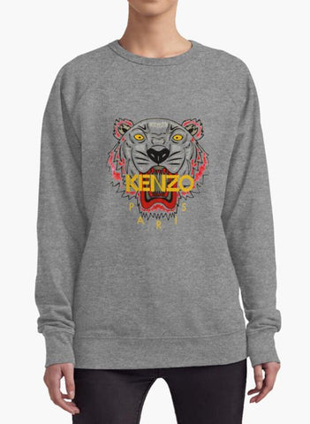 Huma Ijaz Sweat Shirt Kenzo charcoal WOMEN SWEAT SHIRT