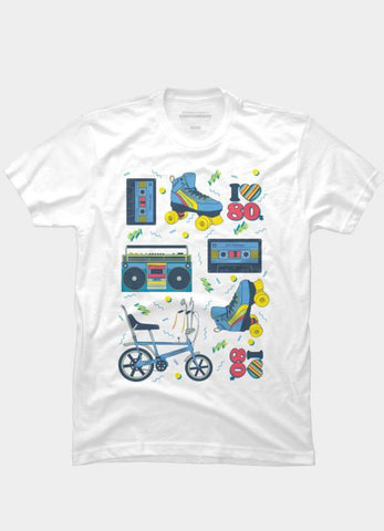 Imported T-SHIRT 80's Collection 2
