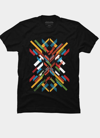 Imported T-SHIRT Abstract 1