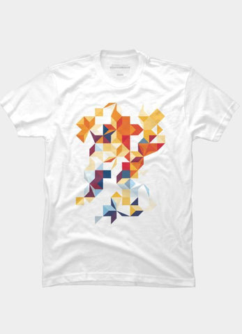 Imported T-SHIRT Abstract 10