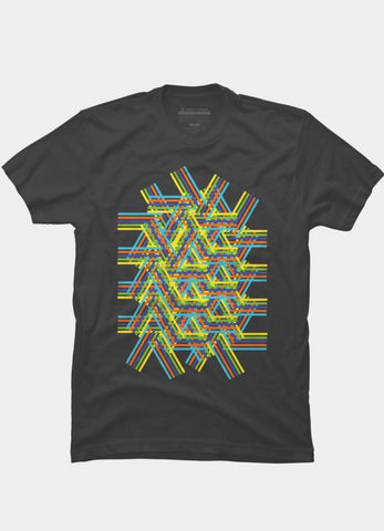 Imported T-SHIRT Abstract 17