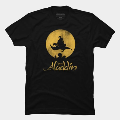 Imported T-SHIRT Aladdin Silhouette
