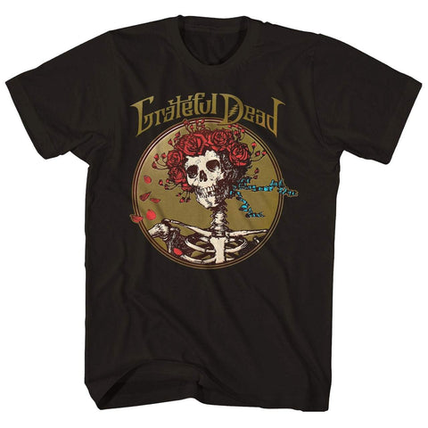 Imported T-SHIRT Bertha Skull & Roses T-Shirt