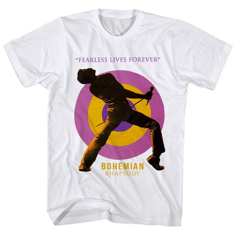 Imported T-SHIRT Fearless Freddie Forever Queen T-Shirt