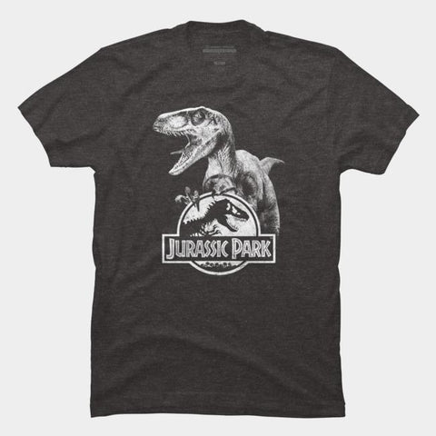 Imported T-SHIRT Jurasic Park 23