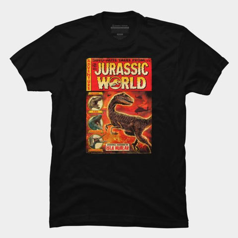 Imported T-SHIRT Jurasic Park 7