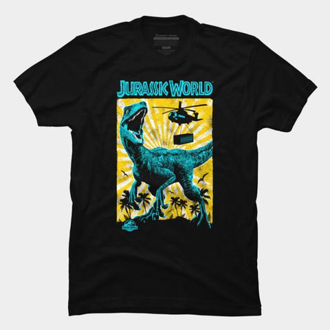 Imported T-SHIRT Jurasic Park 8