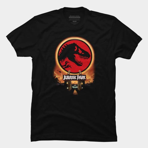Imported T-SHIRT Jurasic Park 9
