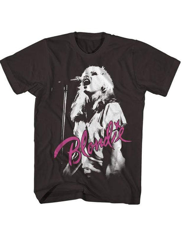 Imported T-SHIRT Live Concert Photo Blondie T-Shirt