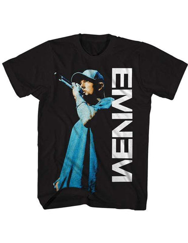 Imported T-SHIRT Live On The Mic Eminem T-Shirt